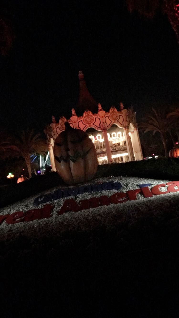 Picture taken at Great America during its Halloween Haunt event. (Gio Quezadas/ LIon Tales)