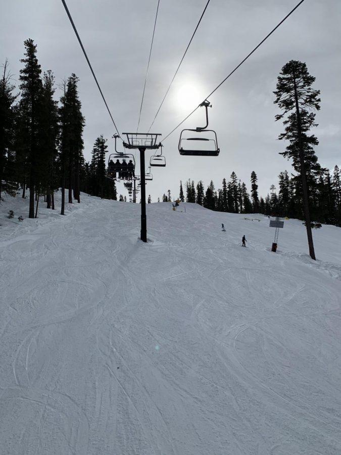 Surprise Snow in Tahoe!
