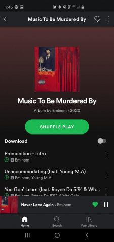 Eminem's new album, Music To Be Murdered By (Gio Quezadas/ Lion Tales)