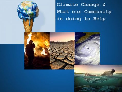 Climate Change & What our Community is doing to Help