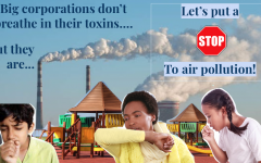 PSA for air pollution. Picture edited by Andrea Saldana.